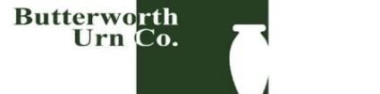 Butterworth Urn Co. | Wiebe & Jeske Burial & Cremation Care Providers